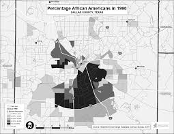 Dallas Neighborhood Map by Haas Institute Co Authors Amicus Brief Submitted To Supreme Court