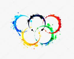 colored olympic rings images Olympic rings of splash paint stock vector ukususha 102187592 jpg