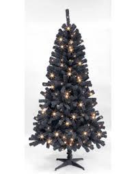 ideas black pre lit tree cheap artificial trees