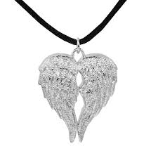 urn pendant sterling silver angel wings companion urn pendant