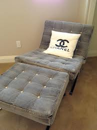 Indigo Home Decor Fashion Inspired Home Decor Chanel Inspired Denim Chair With