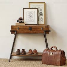 ho leisure home bedroom drawers iron wood furniture living side