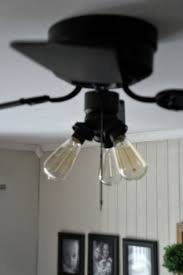 edison bulb ceiling fan super easy industrial style fan makeover ceiling fans ceiling and