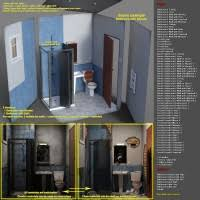Bathroom Before And After Photos The Bathroom Before And After 3d Models And 3d Software By