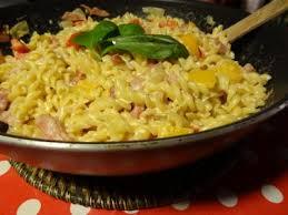 cuisiner pates torsades aux poivrons pimentés recette de pâtes aux poivrons