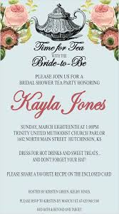 bridal tea party invitation stunning bridal tea invitations 14 bridal shower tea party