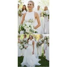 custom made wedding dress white bridal dress simple prom dress custom made evening dress