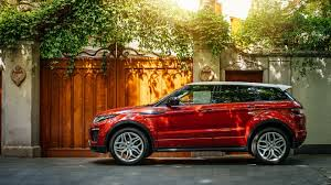 orange range rover land rover range rover evoque 4k wallpaper hd car wallpapers