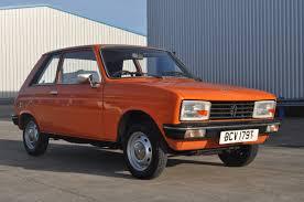 peugeot classic cars peugeot 104 zl 1979 classic car ratings