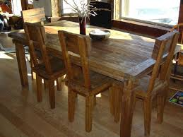 reclaimed teak dining room table teak wood dining table and chairs set dining room furniture