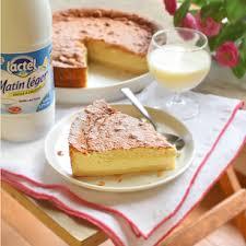 cuisiner sans lactose recette gâteau magique à la vanille sans lactose et sans gluten lactel