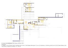 desert house plans richard neutra house plans pretentious 8 neutra kaufmann desert