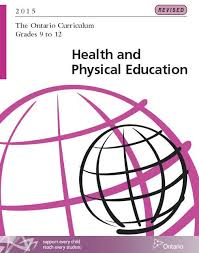 Health  Health and physical education and Physical education on     Pinterest The NEW REVISED Health and Physical Education Ontario Curriculum for Grades      http