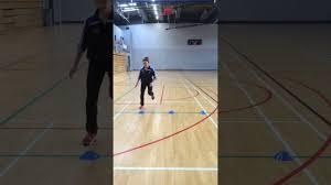 Dynamic Sports Flooring by Sidewards Leap Test For Dynamic Balance Youtube