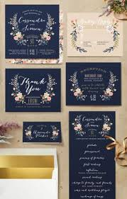 wedding invitations by charming gradient blue wedding invitation iwi073 wedding