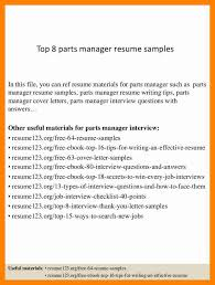 parts of a resume eliolera com