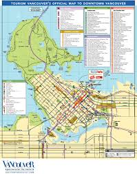 Seattle Downtown Attractions Map by Maps Update 12001057 Vancouver Tourist Map U2013 15 Toprated Tourist