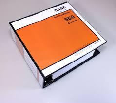 case 550 crawler dozer service repair manual technical shop book