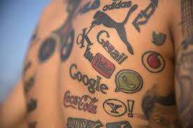 tattoo my logo indian tattooist has 189 logos inked on his body youtube