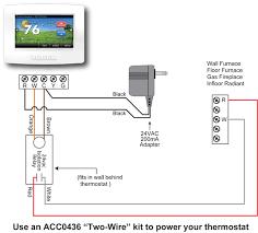 2 wire thermostat wiring diagram wiring diagram