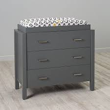 Baby Changing Table And Dresser Sophisticated Uptown Grey Changing Table Dresser The Land Of Nod