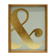 ad ampersand wall sign by ashland at michaels com accent your