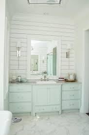 Turquoise Bathroom Vanity Turquoise Blue Washstand With White Beveled Mirror Cottage