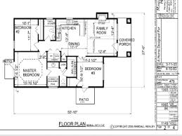 One Level House Plans 3 Bedroom Bungalow House Floor Plans Designs Single Story 1 Story