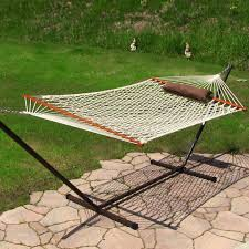 outdoor hammock swing stand with standing hammock