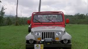 cars movie jeep the mechanical beasts of jurassic world yellow drive