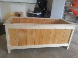 ana white modified rectangular planter diy projects
