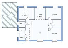plan de maison plain pied gratuit 3 chambres plan maison 90m2 3 chambres 6 de traditionnelle gratuit plain pied 2