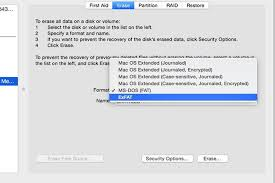 format hard drive exfat on mac how to format usb drive for mac pc techwalla com