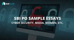 sample essay writing for placement test sbi po descriptive paper mains sample essays cyber security etc sbi po descriptive paper mains sample essays cyber security etc testbook blog