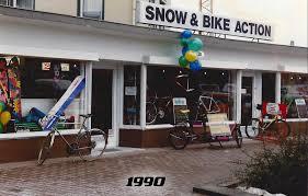Fahrrad Bad Homburg über Uns Snow Bike Action