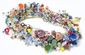 bead jewelry bracelet images Fuzzy beaded bracelet asstd colors the store at lbj jpg