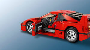 lego sports car 10248 ferrari f40 lego creator products and sets lego com us