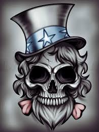 skull tattoos to draw