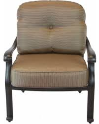 huge deal on san marcos cast aluminum outdoor patio club chair with