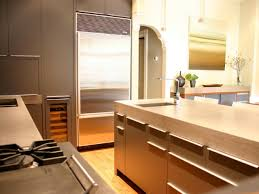 Kitchen Built In Cabinets Kitchen Countertop Positraction Concrete Kitchen Countertops