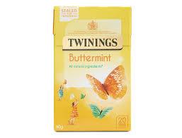 buttermint 20 single tea bags fruit herbal