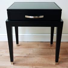 Living Room Table With Drawers Black Table With Drawers Modern End Tables With Storage