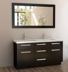 Recycled Bathroom Vanities artistic black bathroom vanity with sink and single handle tub