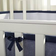 breathablebaby deluxe breathable mesh crib liner navy wall u0027s