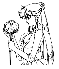 sailor pluto coloring pages coloring pages