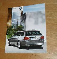 bmw 320i brochure bmw 3 series 2008 sales car brochures ebay