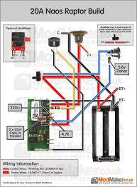 20a naos raptor wiring diagram vaporized pinterest raptors