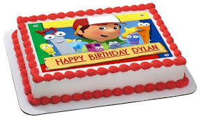handy manny edible birthday cake cupcake topper u2013 edible prints