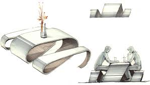 furniture design sketches interior design