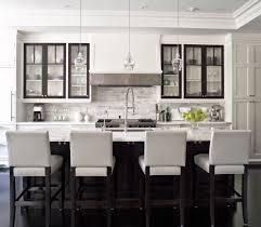 black island and white cabinets kitchen 20 polished kitchens with striking black kitchen islands